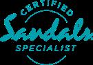 Certified Sandals Specialist